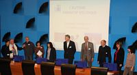 Photo des membres URAFSE lors d'une conférence